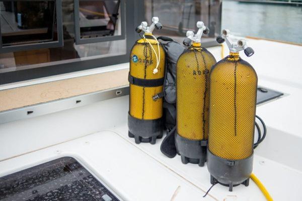Formation plongée solo voilier