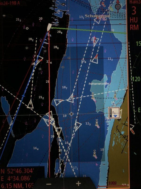 Formation radar et navigation de nuit - Apprendre la voile