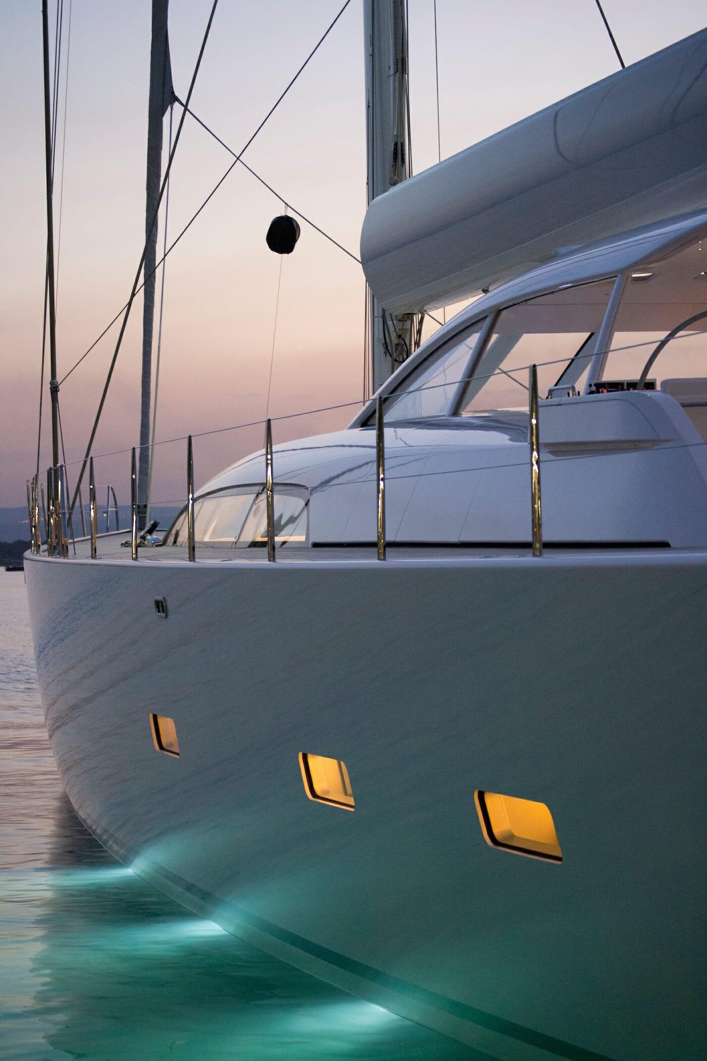Preparation new yacht