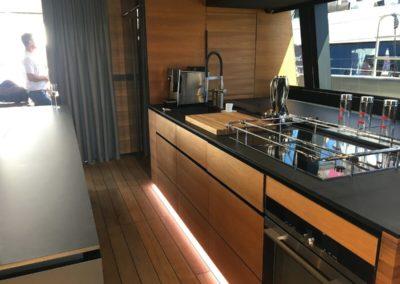 Sunreef 70 catamaran kitchen