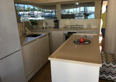 Sunreef 50 indoor catamaran