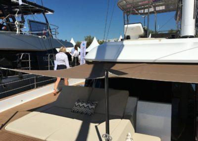 Sunreef 50 front deck