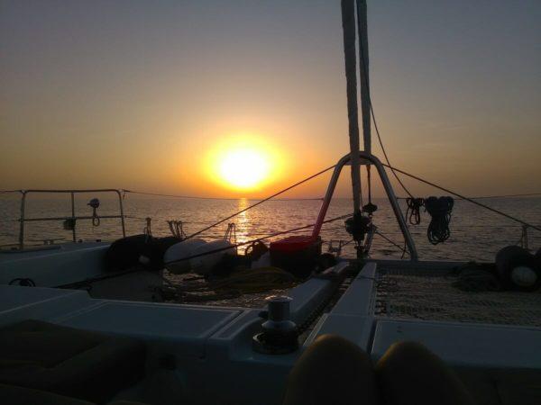 skipper convoyage catamaran
