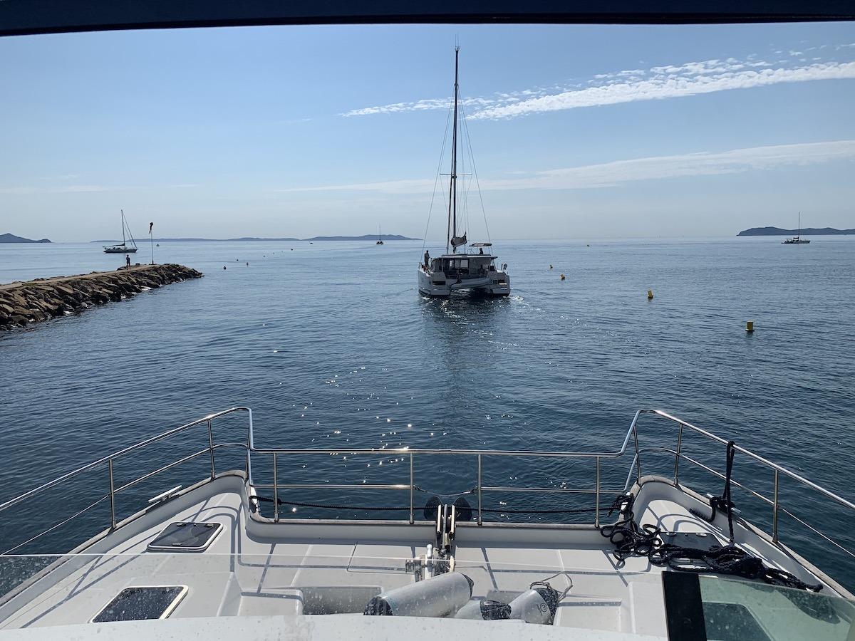 Apprendre la voile - Ecole de croisière FFV Catamaran