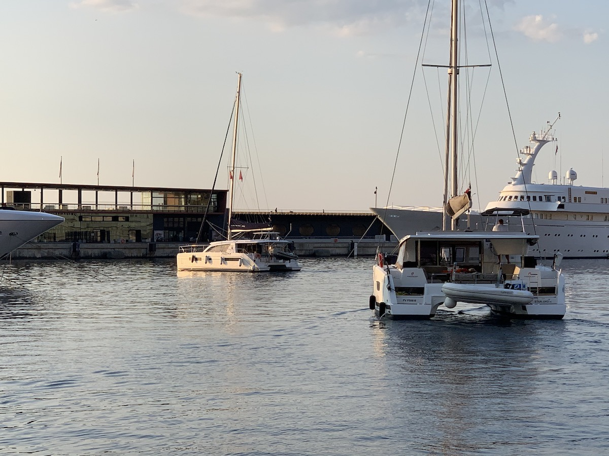 Ecole de croisière catamaran Hyères