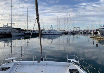 Apprendre la voile skipper catamaran