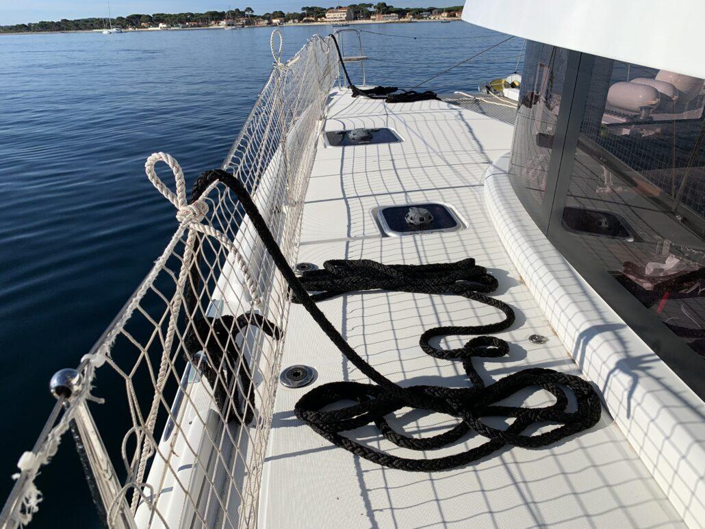 Ecole de croisière catamaran med